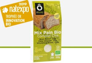 mix BIO pain complet chia 200g de la marque ÔCérès