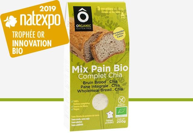 Trophée d'Or Innovation Natexpo 2019, catégorie produits BIO diététiques